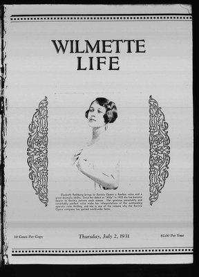 Wilmette Life (Wilmette, Illinois), 2 Jul 1931