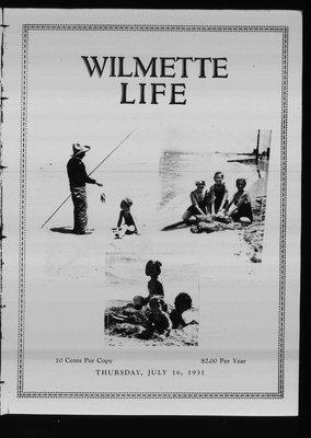 Wilmette Life (Wilmette, Illinois), 16 Jul 1931