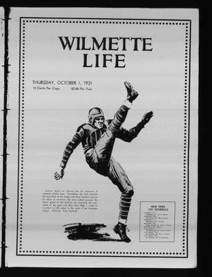 Wilmette Life (Wilmette, Illinois), 1 Oct 1931