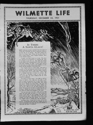 Wilmette Life (Wilmette, Illinois), 24 Dec 1931