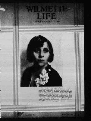 Wilmette Life (Wilmette, Illinois), 7 Apr 1932