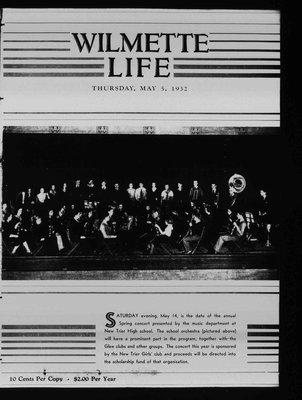 Wilmette Life (Wilmette, Illinois), 5 May 1932