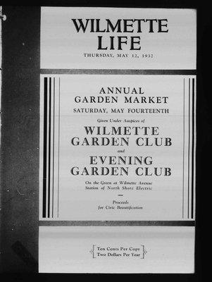 Wilmette Life (Wilmette, Illinois), 12 May 1932