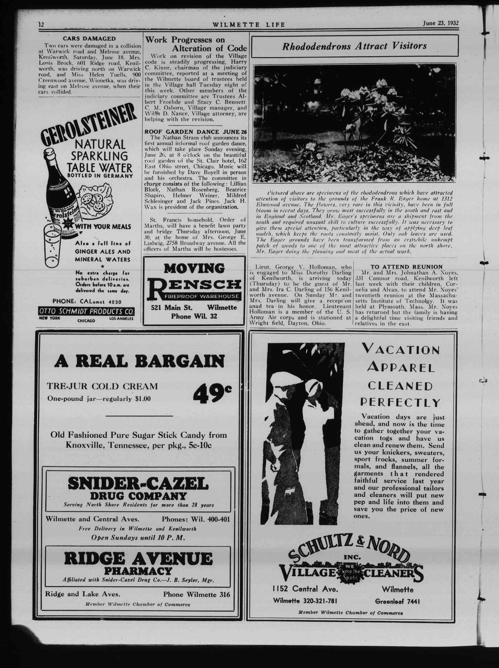 Wilmette Life (Wilmette, Illinois), 23 Jun 1932