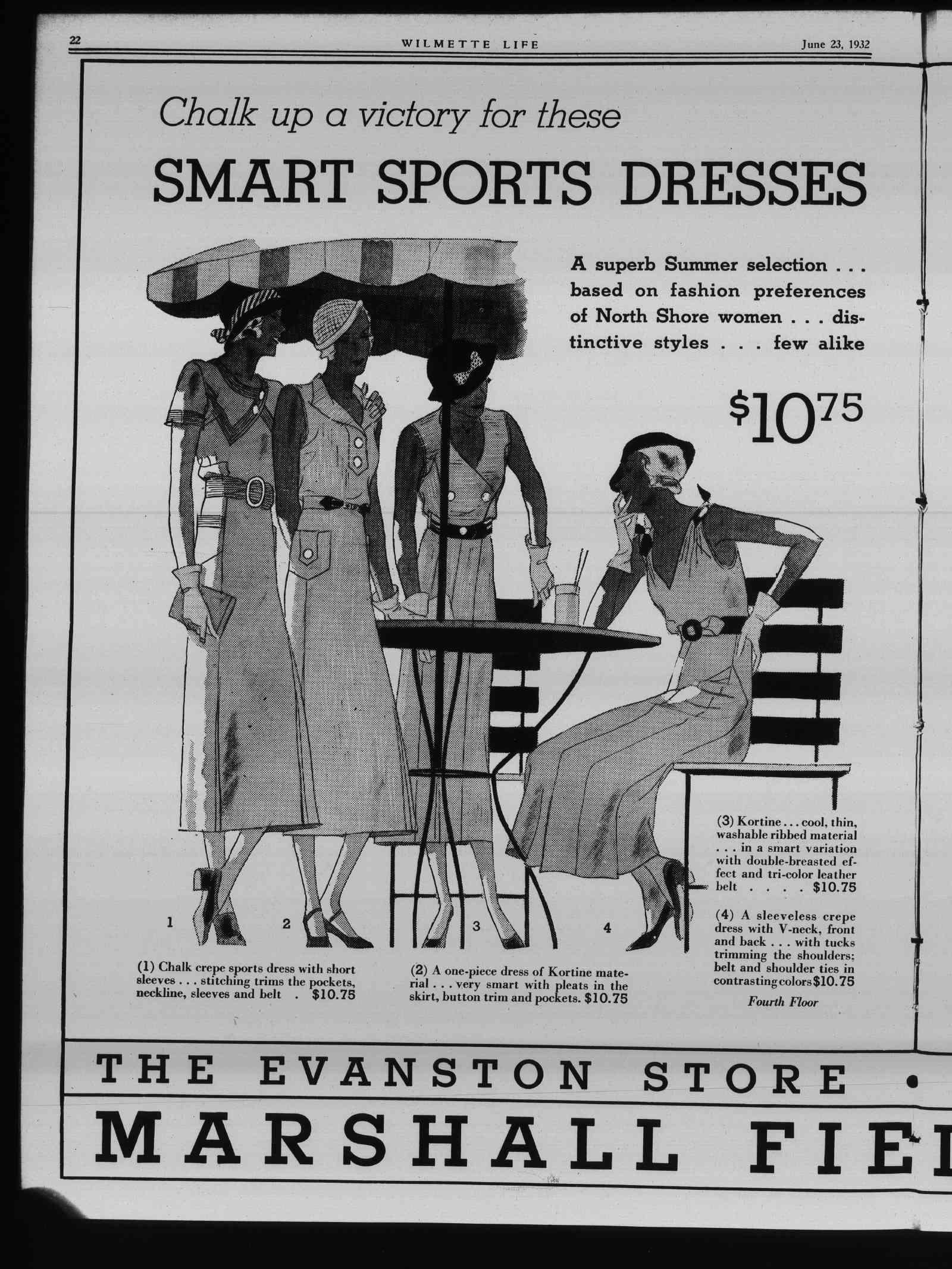 Wilmette Life (Wilmette, Illinois), 23 Jun 1932