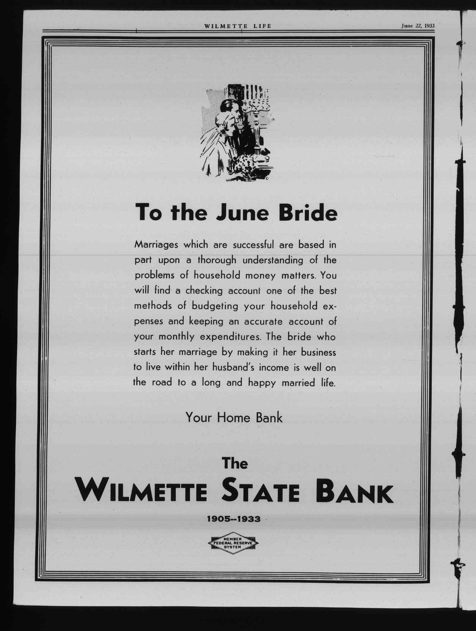 Wilmette Life (Wilmette, Illinois), 22 Jun 1933