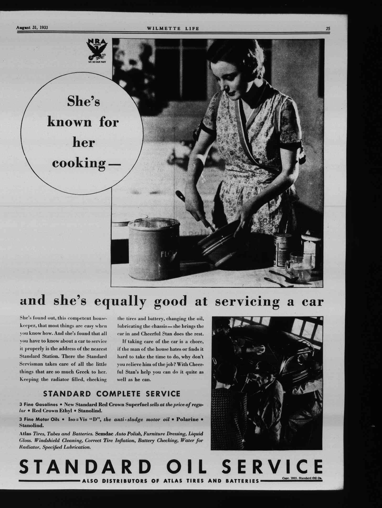 Wilmette Life (Wilmette, Illinois), 31 Aug 1933