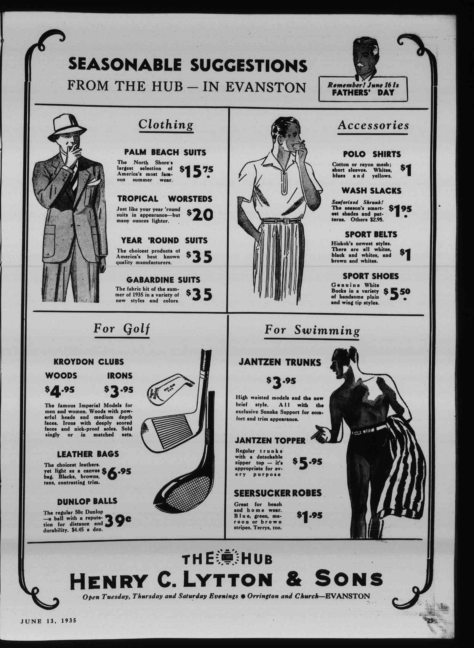 Wilmette Life (Wilmette, Illinois), 13 Jun 1935