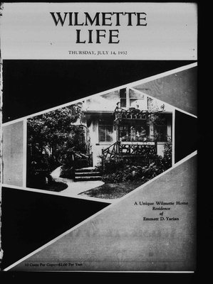 Wilmette Life (Wilmette, Illinois), 14 Jul 1932