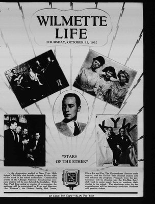 Wilmette Life (Wilmette, Illinois), 13 Oct 1932