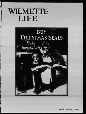 Wilmette Life (Wilmette, Illinois), 15 Dec 1932