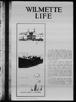 Wilmette Life (Wilmette, Illinois), 12 Jan 1933