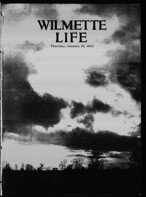 Wilmette Life (Wilmette, Illinois), 19 Jan 1933