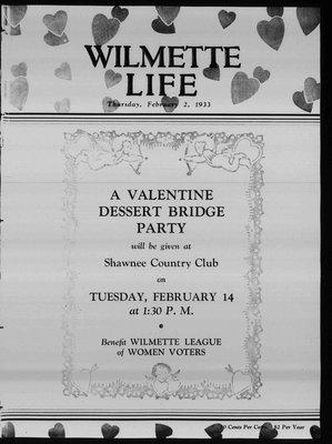 Wilmette Life (Wilmette, Illinois), 2 Feb 1933