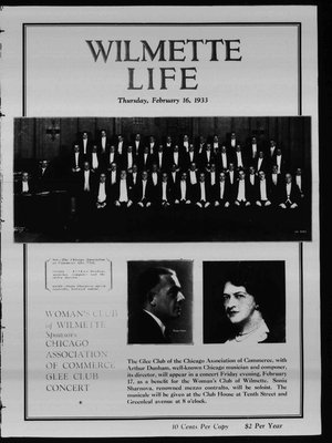 Wilmette Life (Wilmette, Illinois), 16 Feb 1933