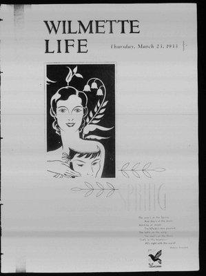 Wilmette Life (Wilmette, Illinois), 23 Mar 1933