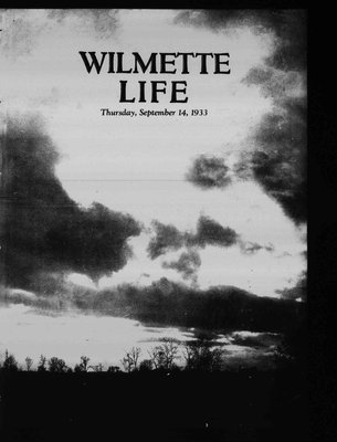 Wilmette Life (Wilmette, Illinois), 14 Sep 1933