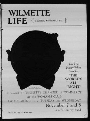 Wilmette Life (Wilmette, Illinois), 2 Nov 1933