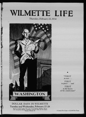 Wilmette Life (Wilmette, Illinois), 22 Feb 1934