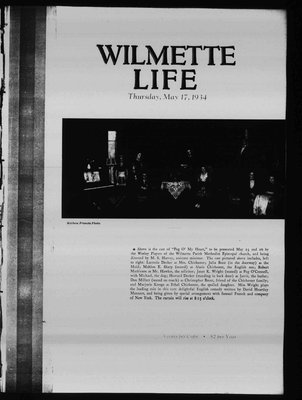 Wilmette Life (Wilmette, Illinois), 17 May 1934