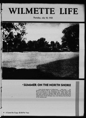 Wilmette Life (Wilmette, Illinois), 18 Jul 1935