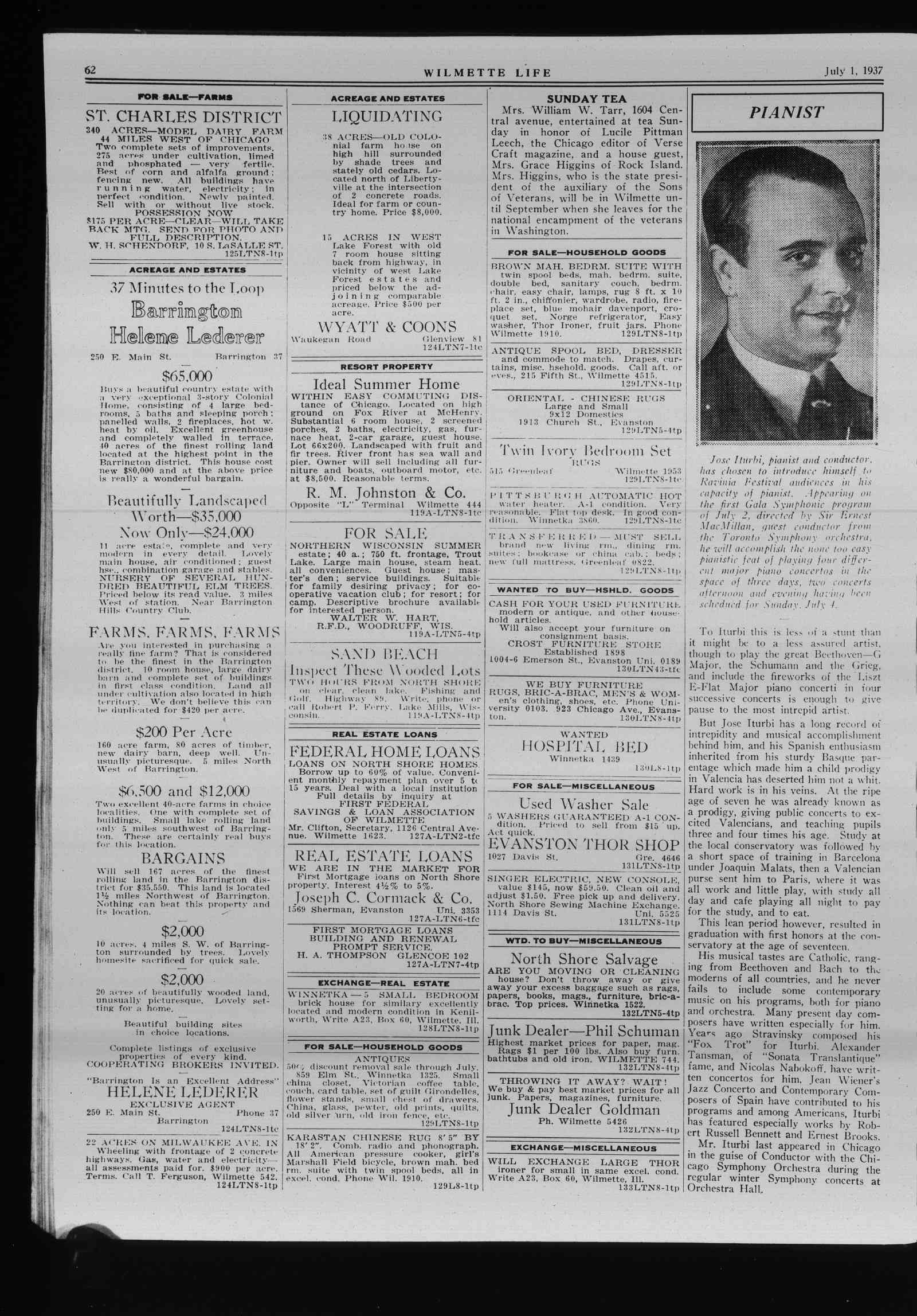 Wilmette Life (Wilmette, Illinois), 1 Jul 1937