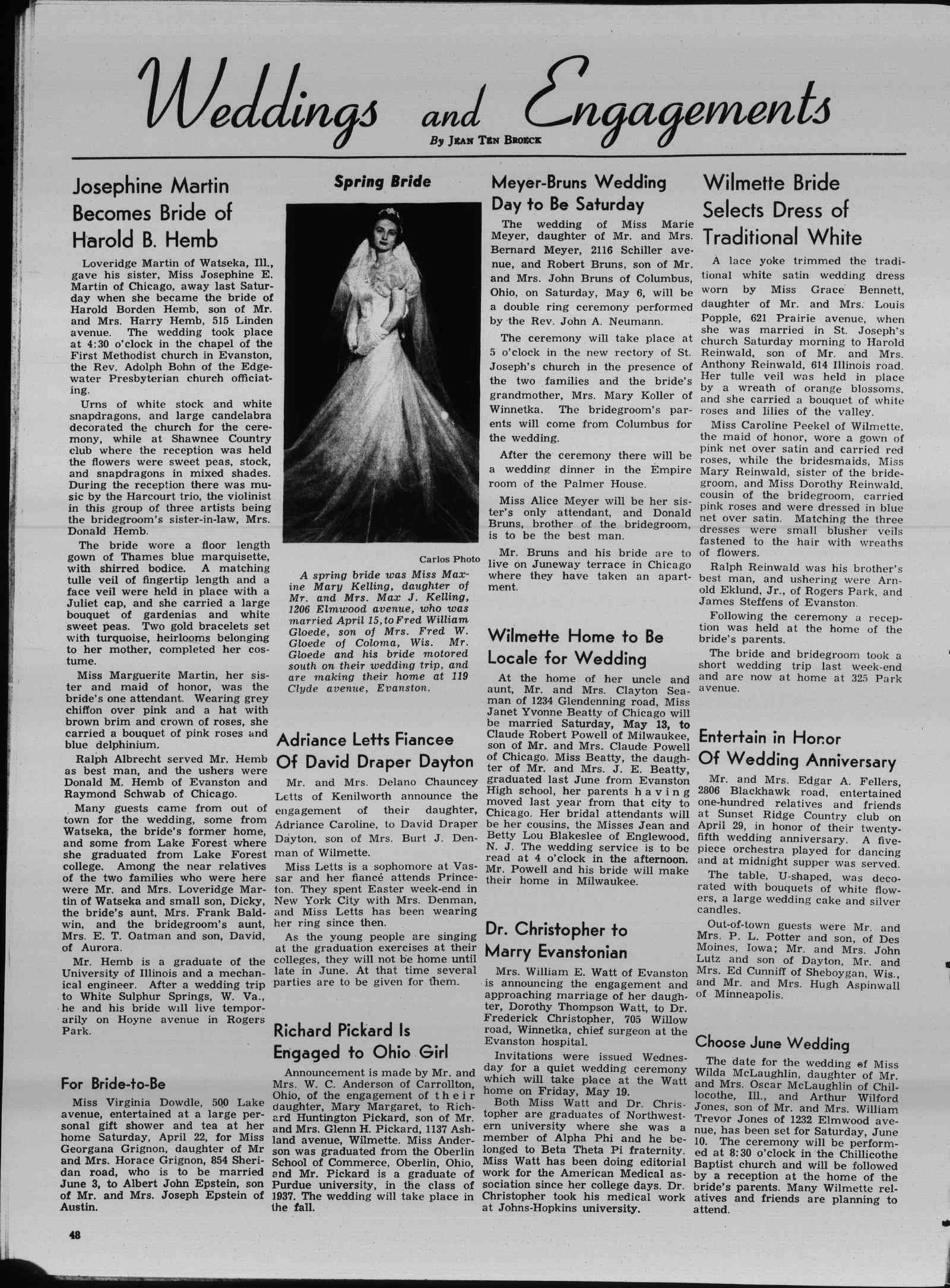 Wilmette Life (Wilmette, Illinois), 4 May 1939