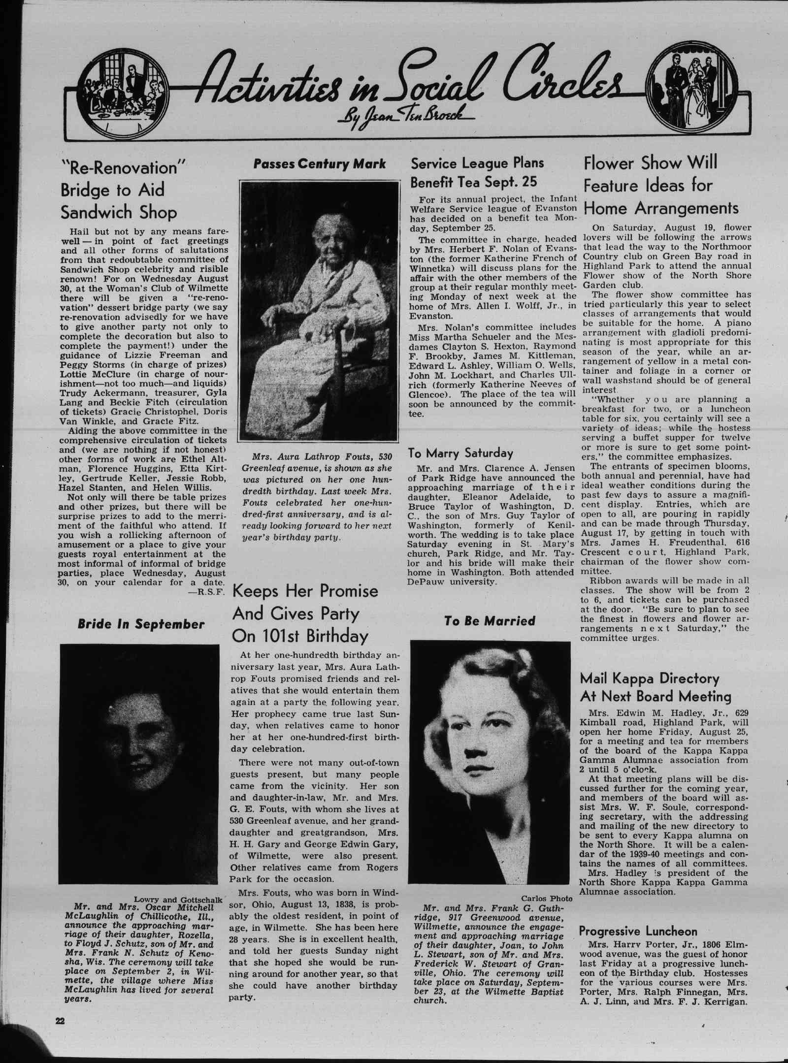 Wilmette Life (Wilmette, Illinois), 17 Aug 1939