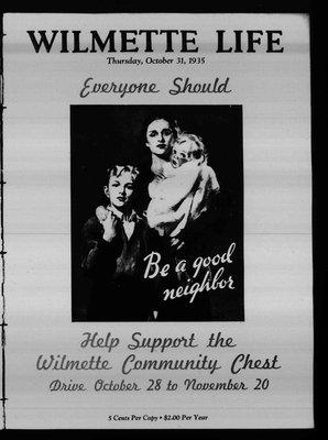 Wilmette Life (Wilmette, Illinois), 31 Oct 1935