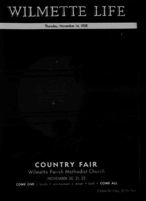 Wilmette Life (Wilmette, Illinois), 14 Nov 1935