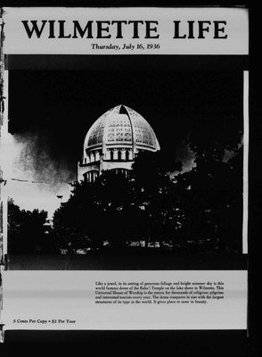 Wilmette Life (Wilmette, Illinois), 16 Jul 1936