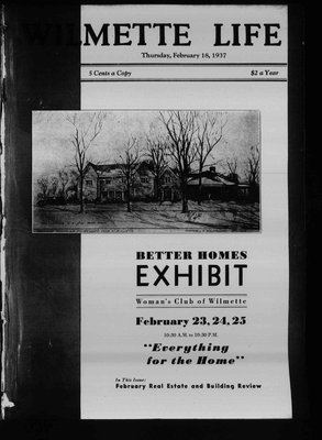 Wilmette Life (Wilmette, Illinois), 18 Feb 1937