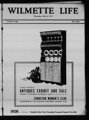 Wilmette Life (Wilmette, Illinois), 6 May 1937