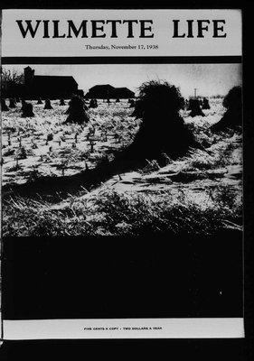 Wilmette Life (Wilmette, Illinois), 17 Nov 1938