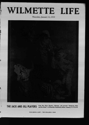 Wilmette Life (Wilmette, Illinois), 12 Jan 1939