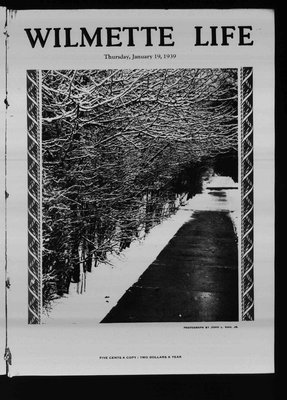 Wilmette Life (Wilmette, Illinois), 19 Jan 1939