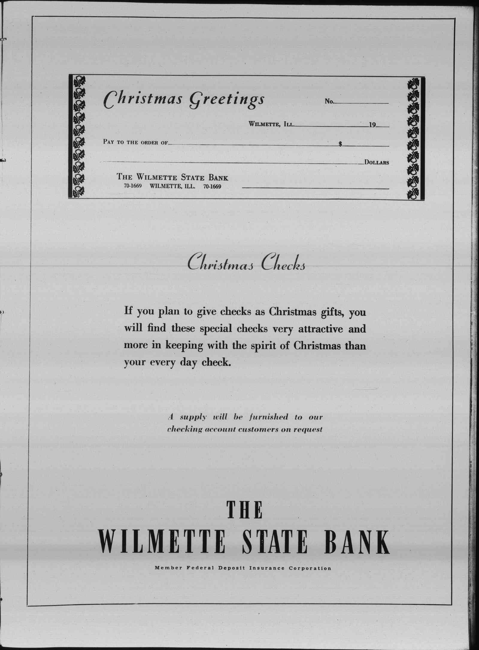 Wilmette Life (Wilmette, Illinois), 14 Dec 1939