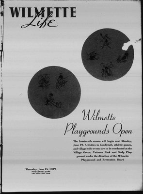Wilmette Life (Wilmette, Illinois), 15 Jun 1939