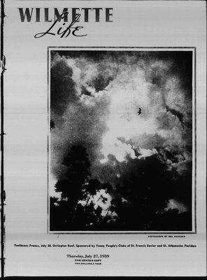 Wilmette Life (Wilmette, Illinois), 27 Jul 1939