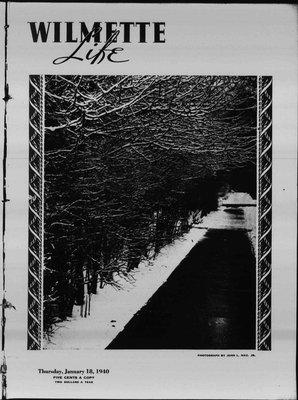 Wilmette Life (Wilmette, Illinois), 18 Jan 1940