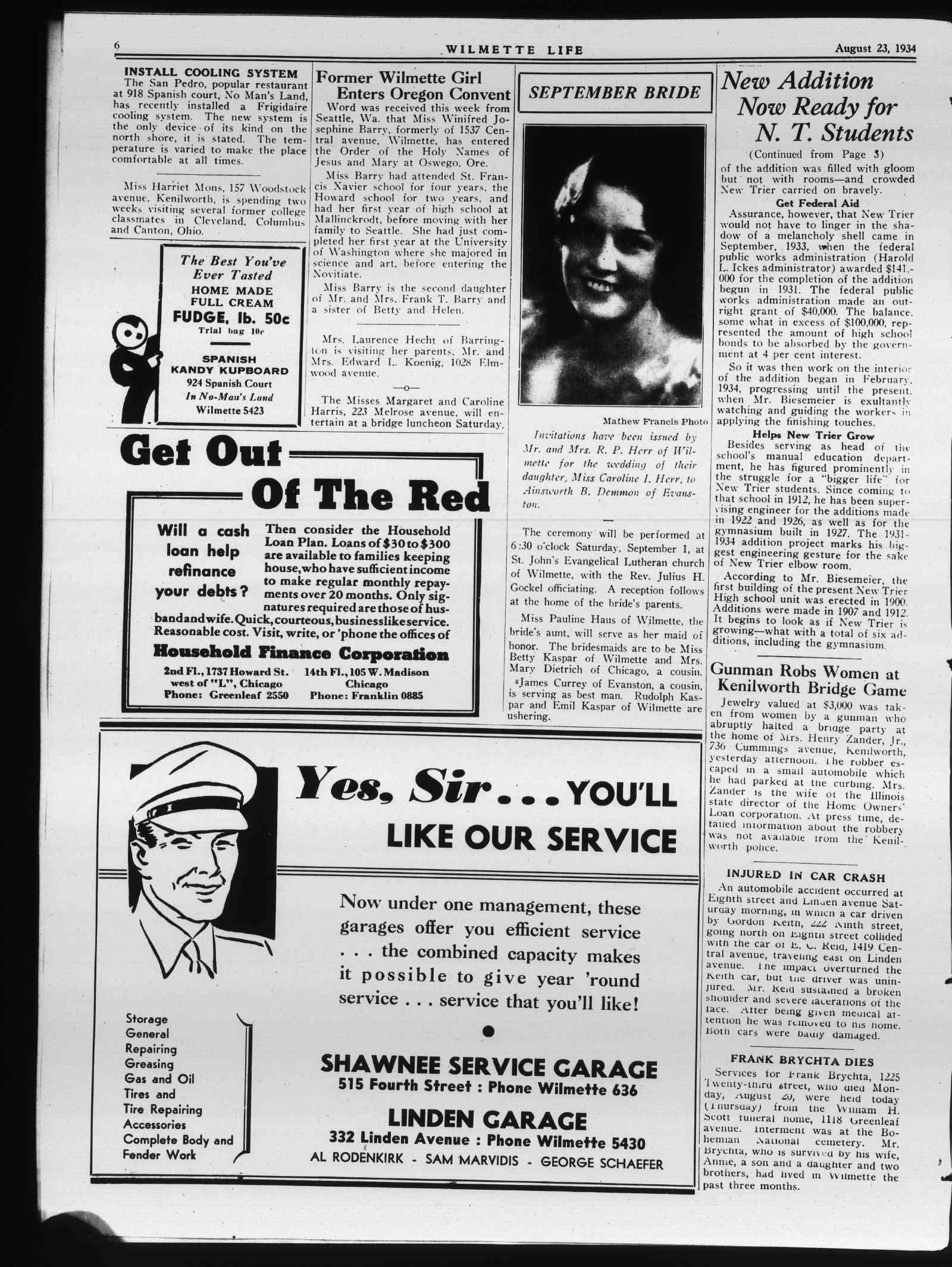 Wilmette Life (Wilmette, Illinois), 23 Aug 1934