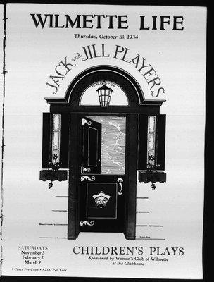 Wilmette Life (Wilmette, Illinois), 18 Oct 1934