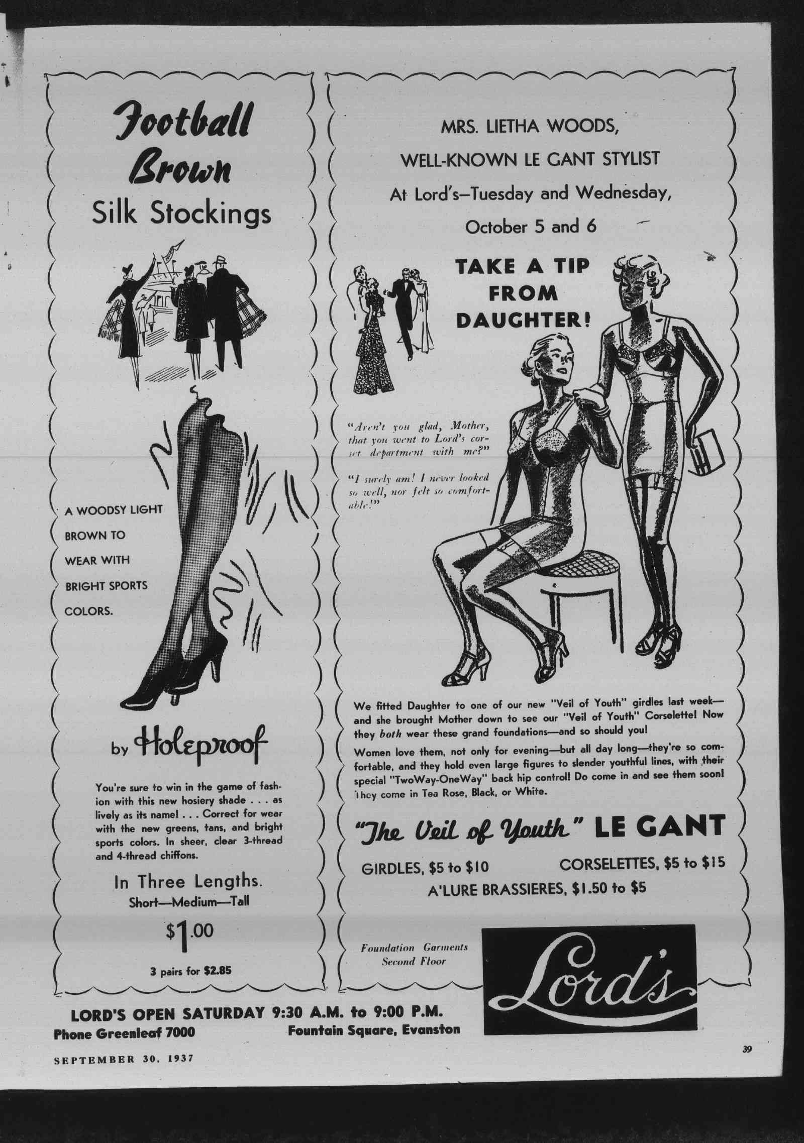 Wilmette Life (Wilmette, Illinois), 30 Sep 1937