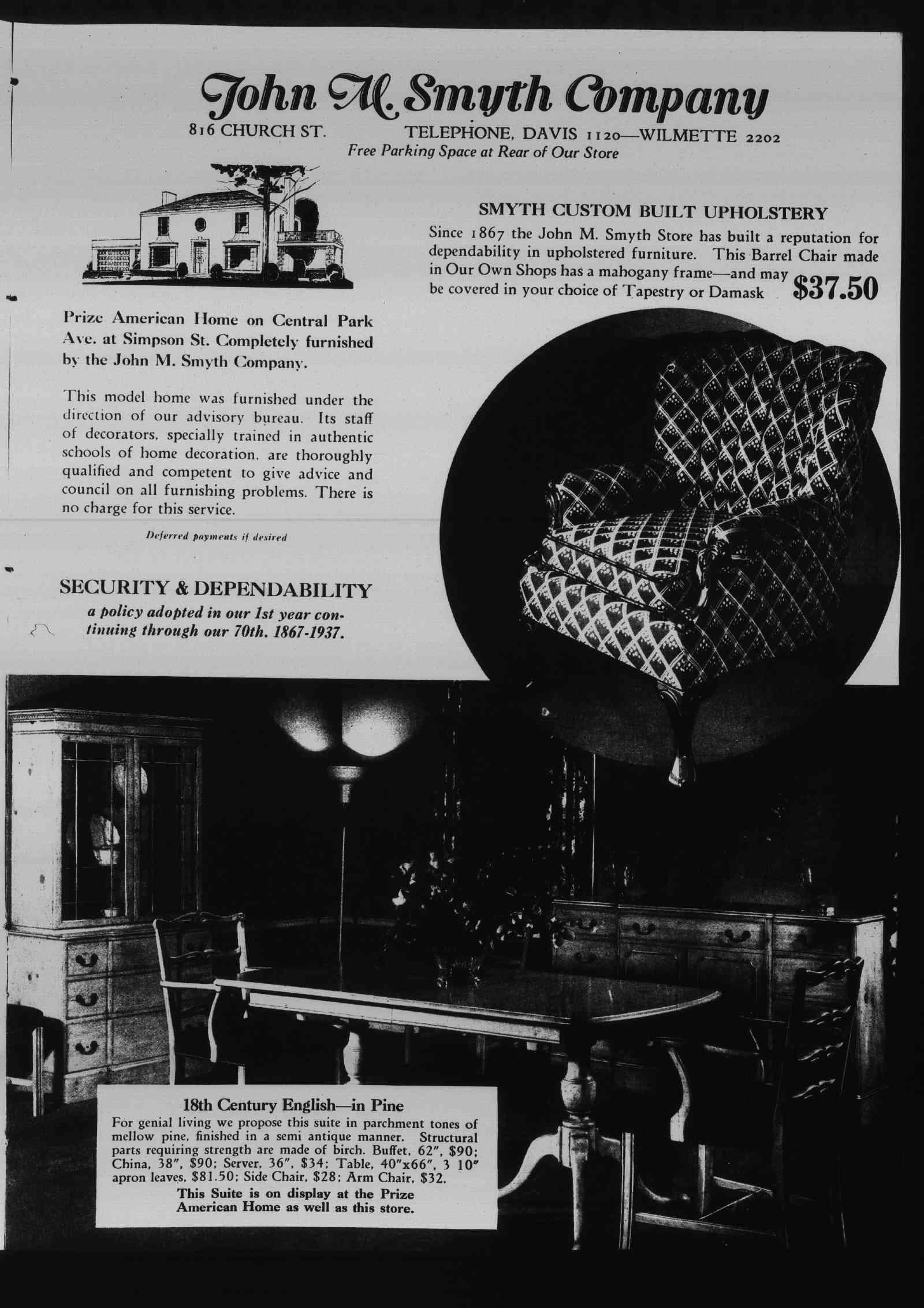 Wilmette Life (Wilmette, Illinois), 7 Oct 1937
