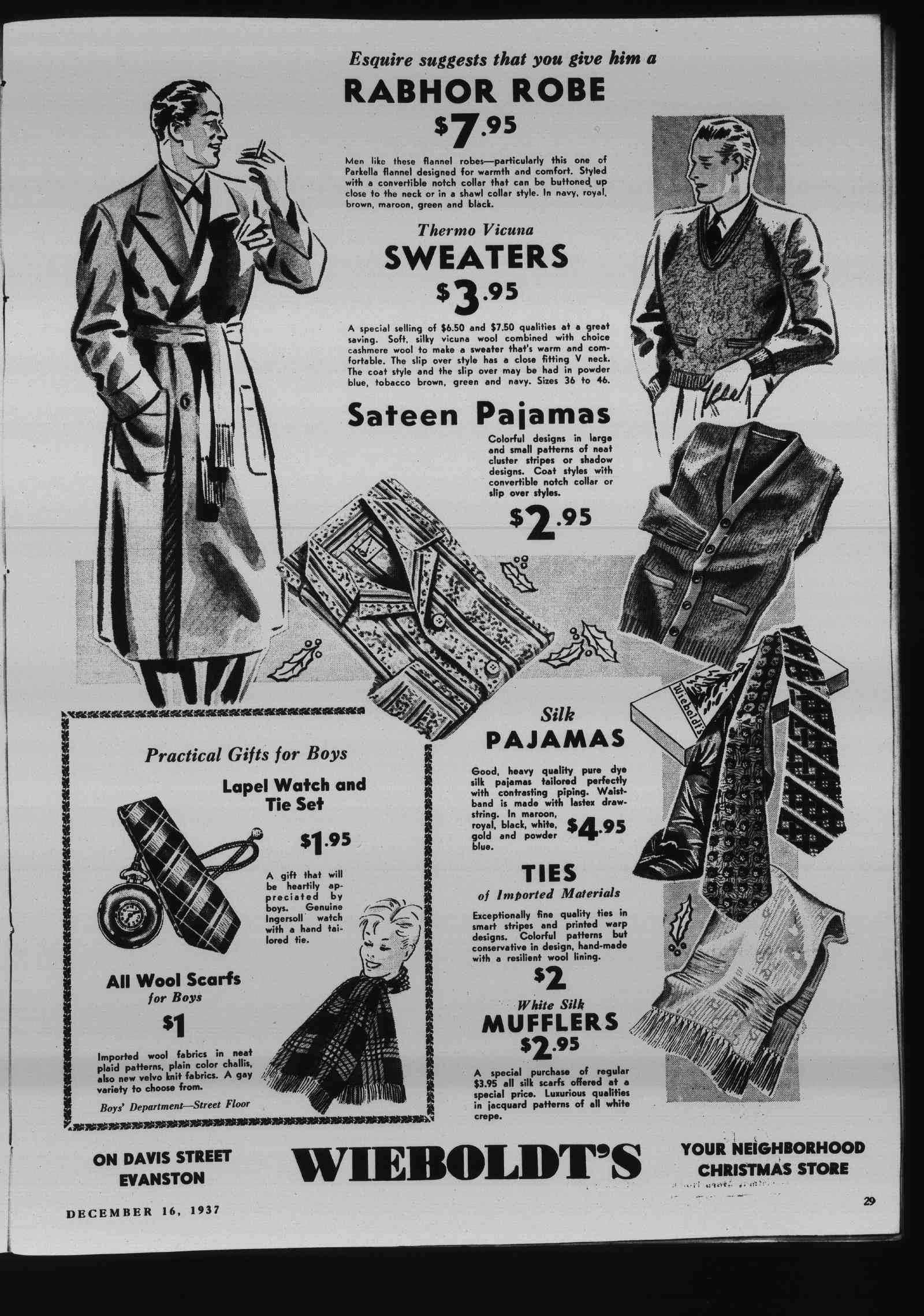 Wilmette Life (Wilmette, Illinois), 16 Dec 1937