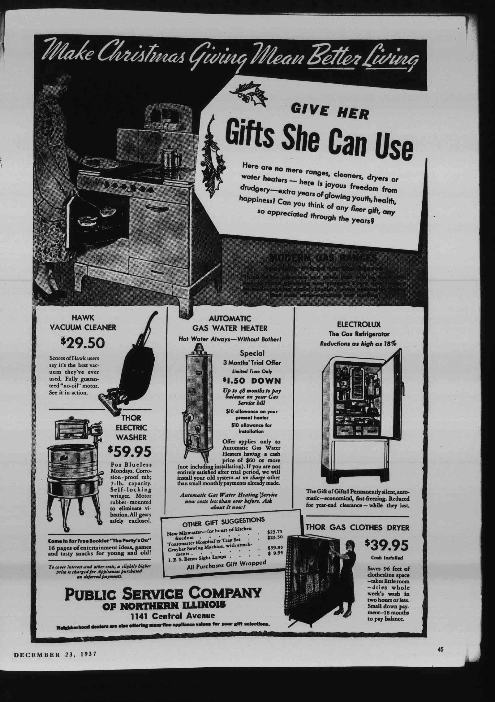 Wilmette Life (Wilmette, Illinois), 23 Dec 1937
