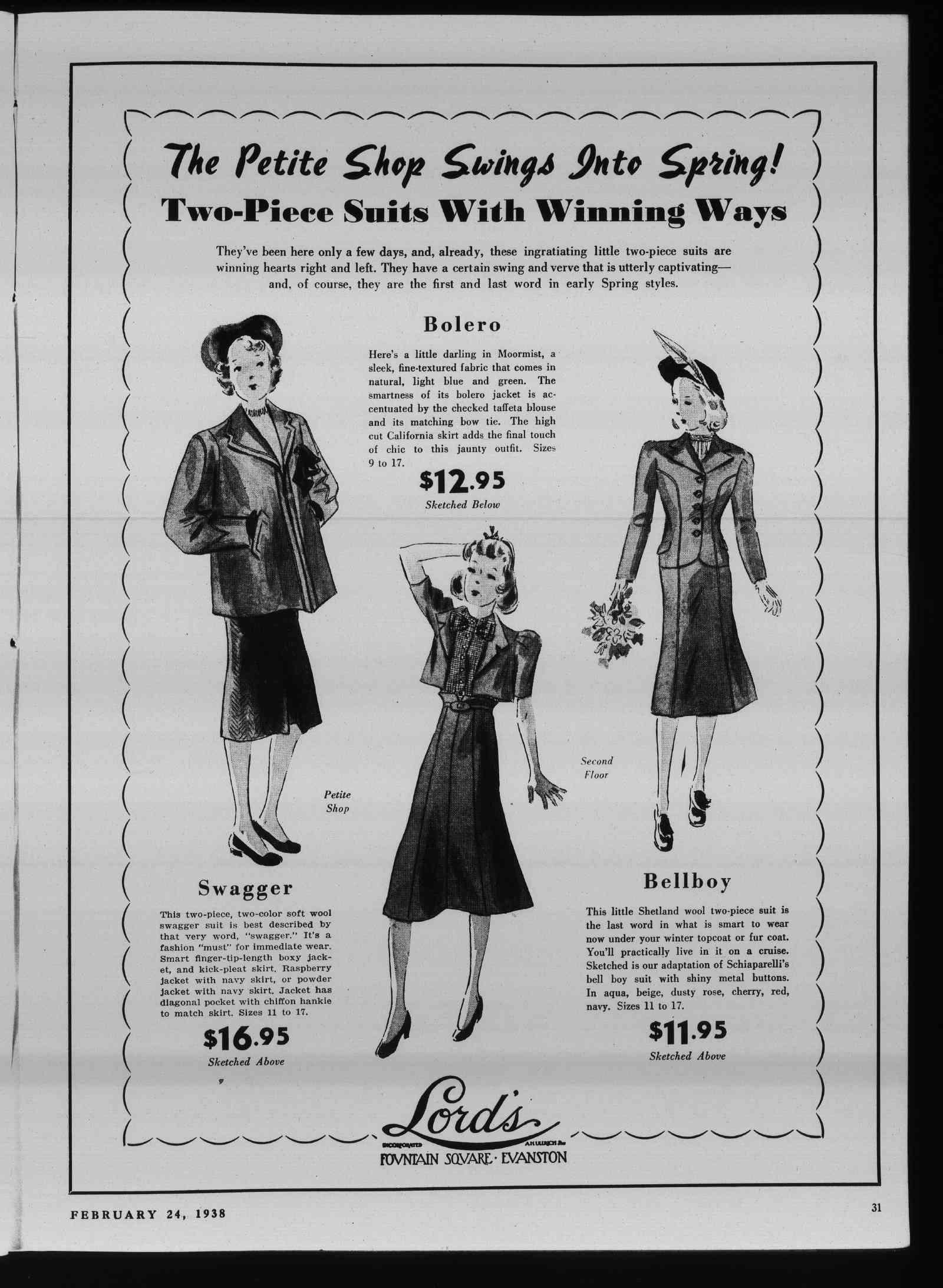 Wilmette Life (Wilmette, Illinois), 24 Feb 1938