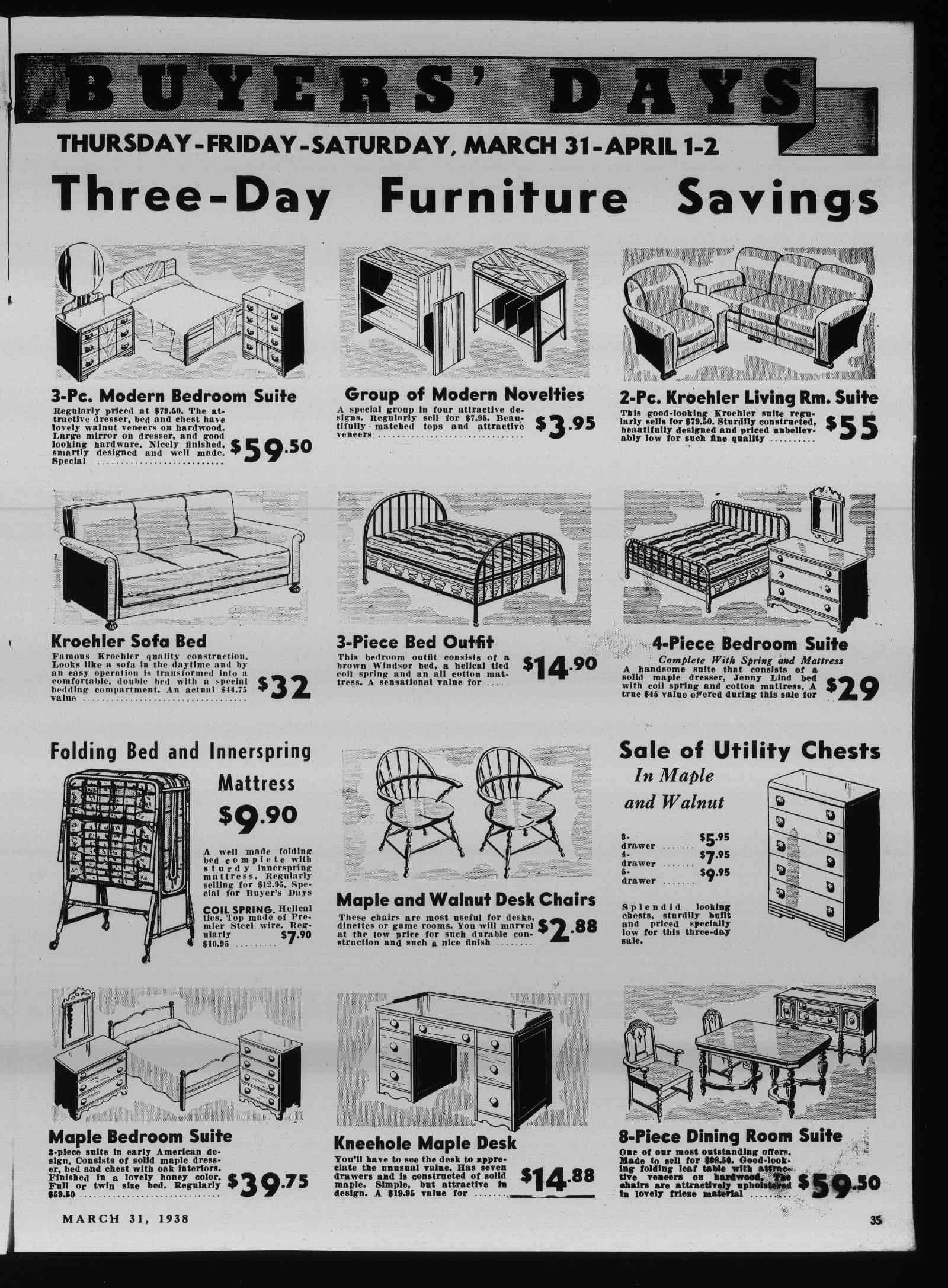 Wilmette Life (Wilmette, Illinois), 31 Mar 1938
