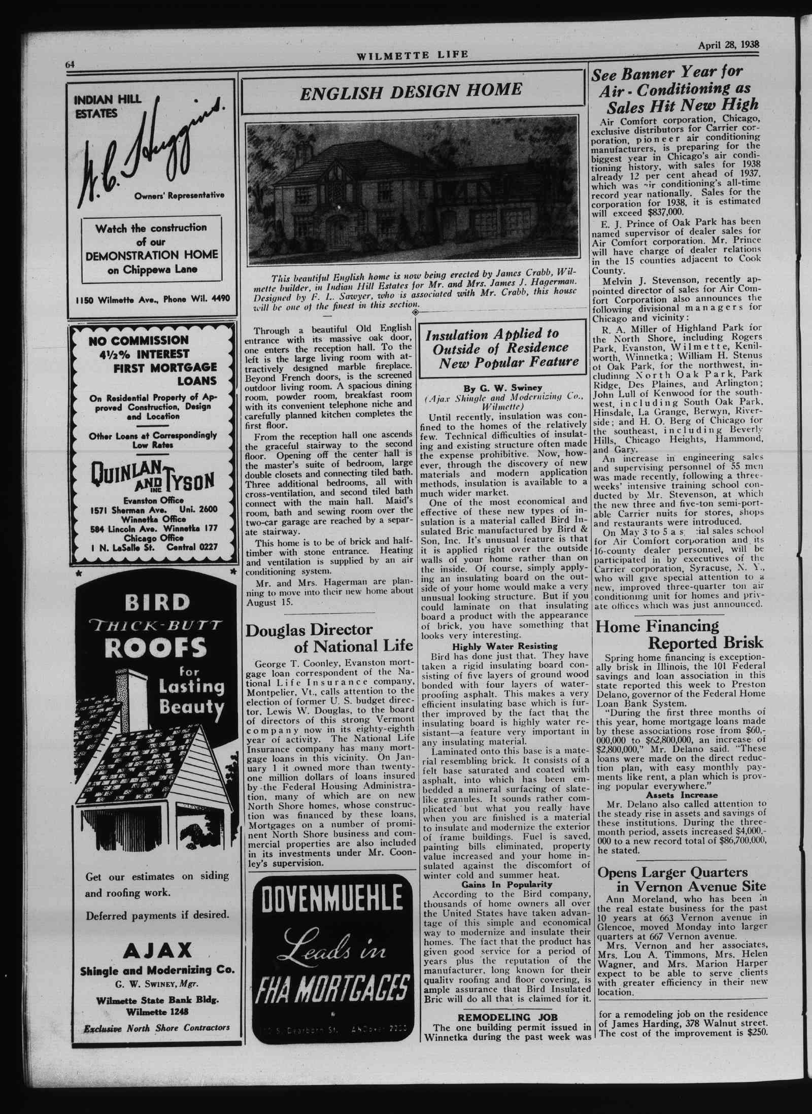 Wilmette Life (Wilmette, Illinois), 28 Apr 1938