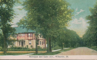 Michigan and Lake Avenue, Wilmette